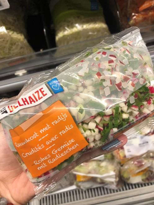 mélange radis